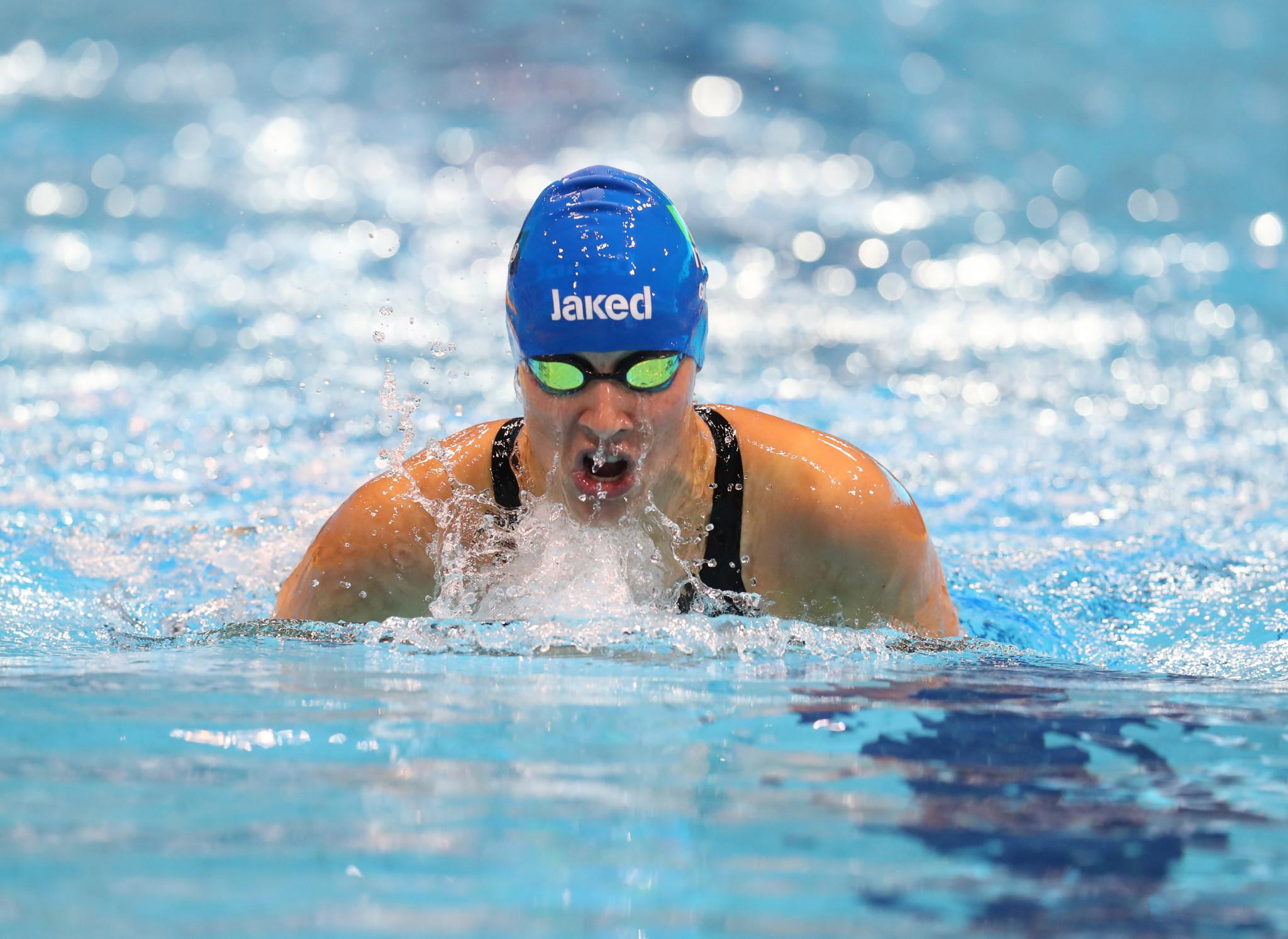 Italian gold rush opens European Para Swimming Championships