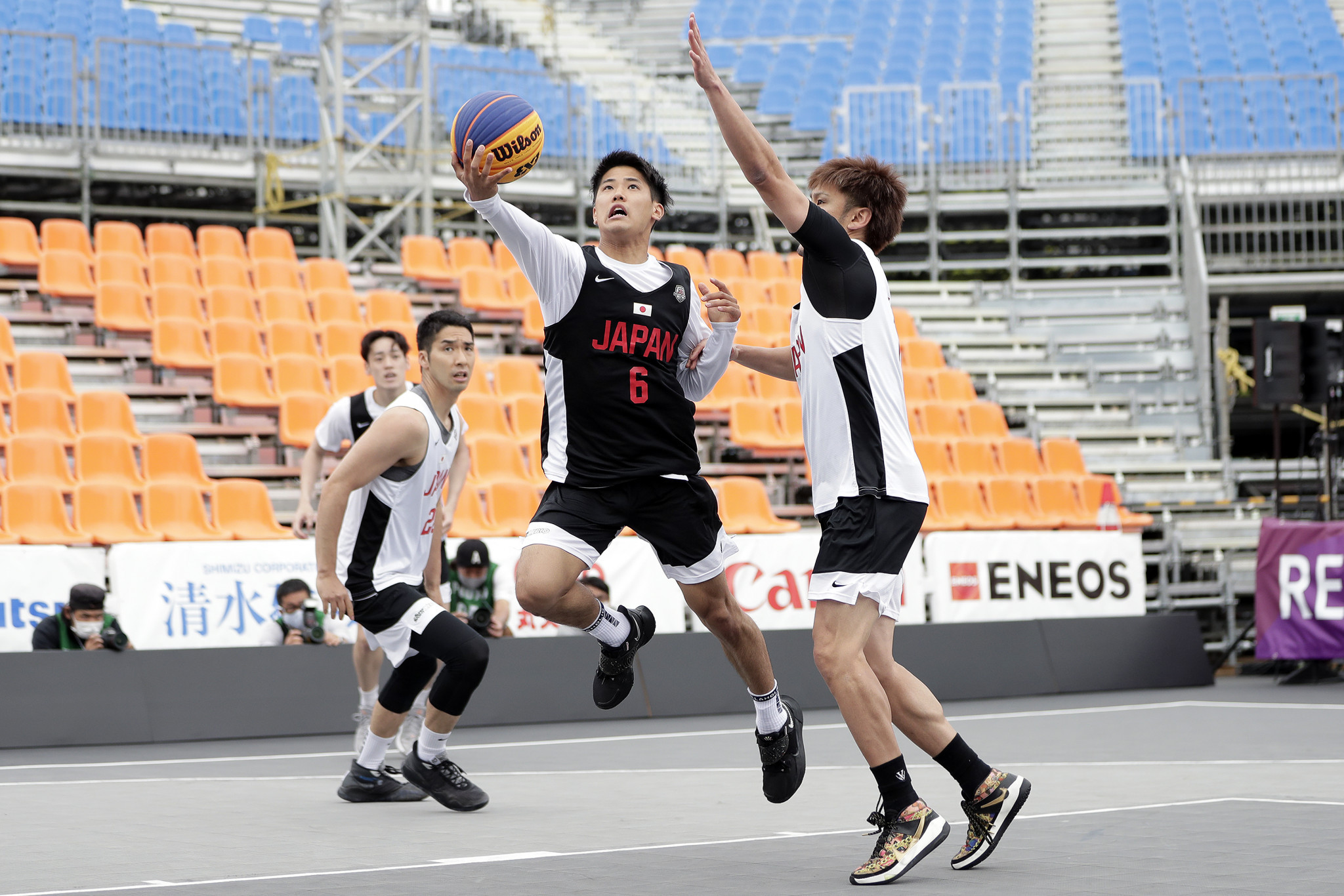 Tokyo stages 3x3 basketball test event prior to sport's Olympic debut