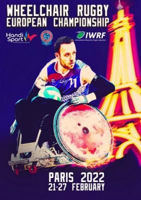 Paris to host 2022 Wheelchair Rugby European Championship Division A