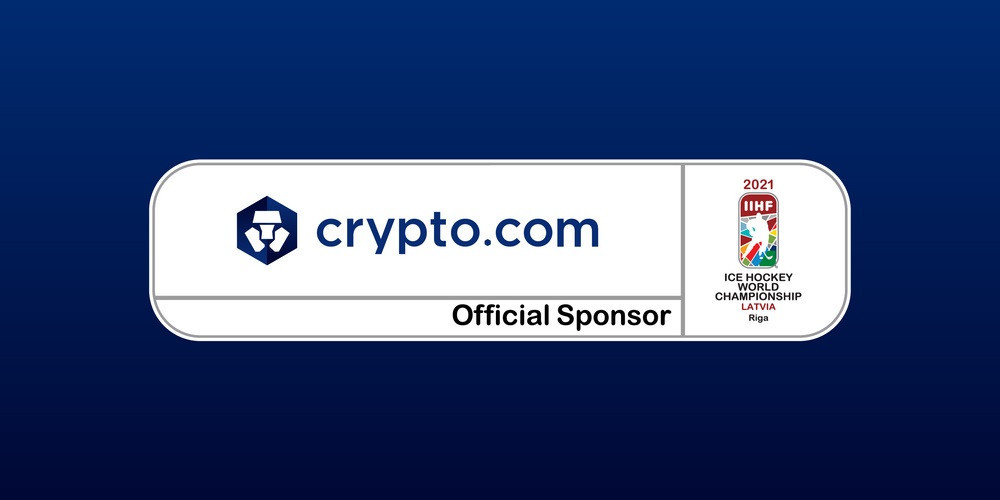 Crypto.com has become the official cryptocurrency and non-fungible token sponsor for the IIHF World Championship in 2021 and 2022 ©crypto.com