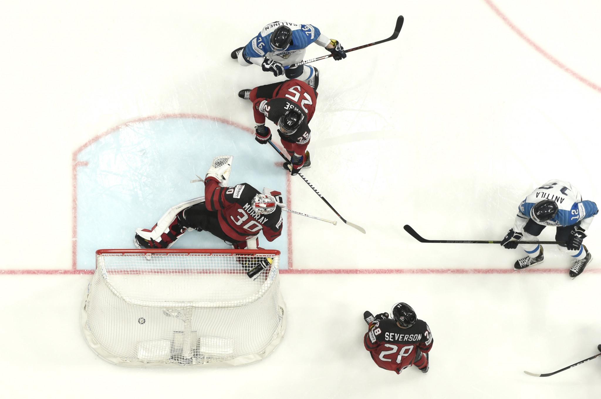 Die Ankündigung des Sponsoring-Vertrags von IIHF mit Crypto.com erfolgt vor der diesjährigen Weltmeisterschaft, die am Freitag eröffnet wird. © Getty Images
