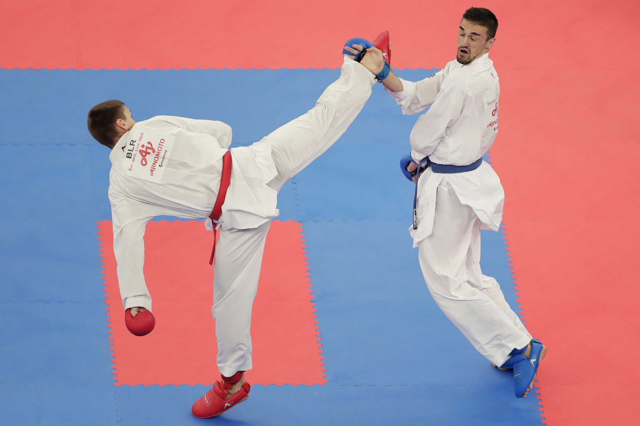 Karate is on the Tokyo 2020 programme but has not retained its place for Paris 2024 ©Getty Images