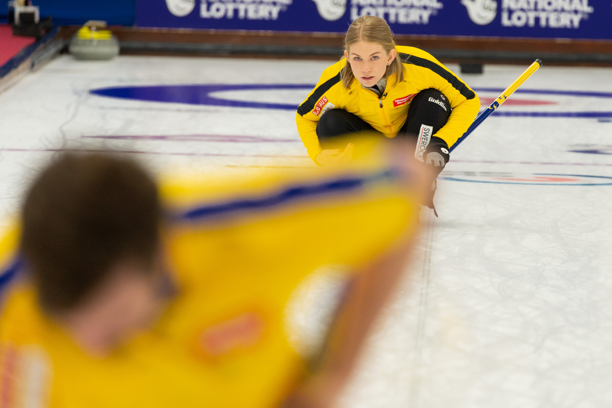 Swedes and Scots make winning starts at World Mixed Doubles Curling Championship