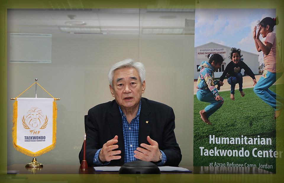 Il presidente del campionato mondiale di taekwondo Chung Won Chu ha fondato la federazione nel 2015 © World Taekwondo