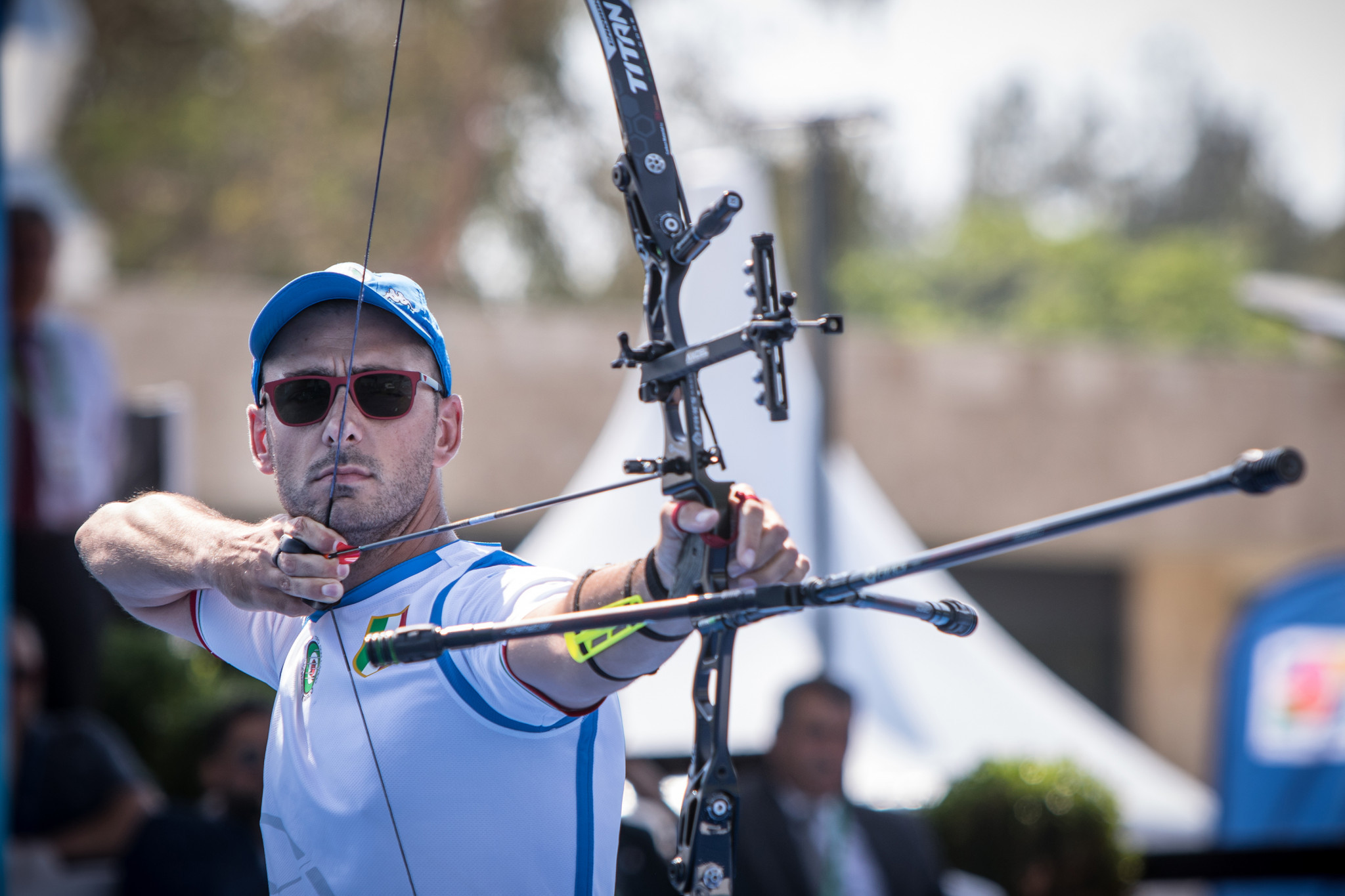 Nespoli and Kroppen head recurve qualifying at Archery World Cup in Lausanne