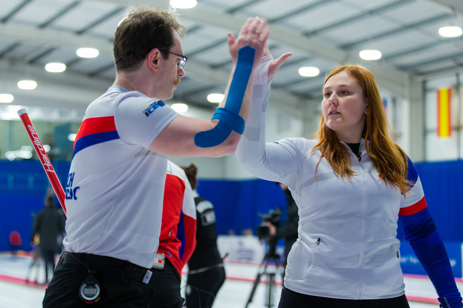 Five teams remain unbeaten following second day at World Mixed Doubles Curling Championship