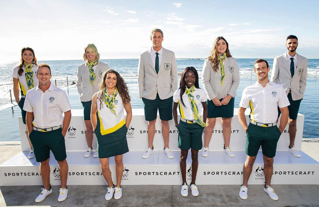 Australian Opening Ceremony uniforms unveiled for Tokyo 2020