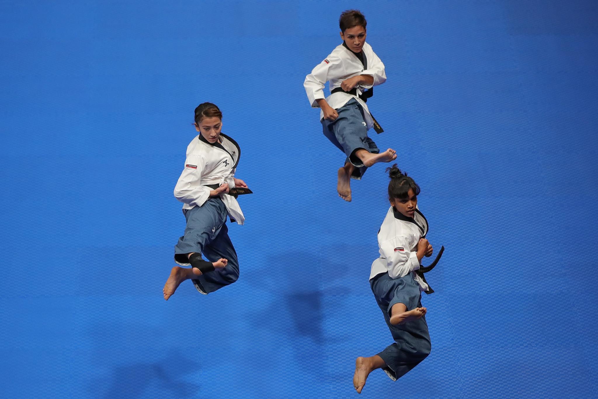 Twenty countries represented at World Taekwondo Europe's poomsae workshop