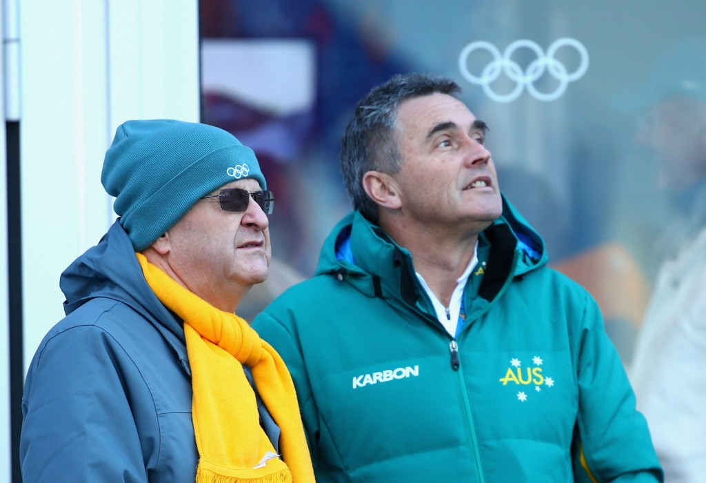 Australian Chef de Mission, Ian Chesterman (right) has expressed his delight at leading a team into Lillehammer