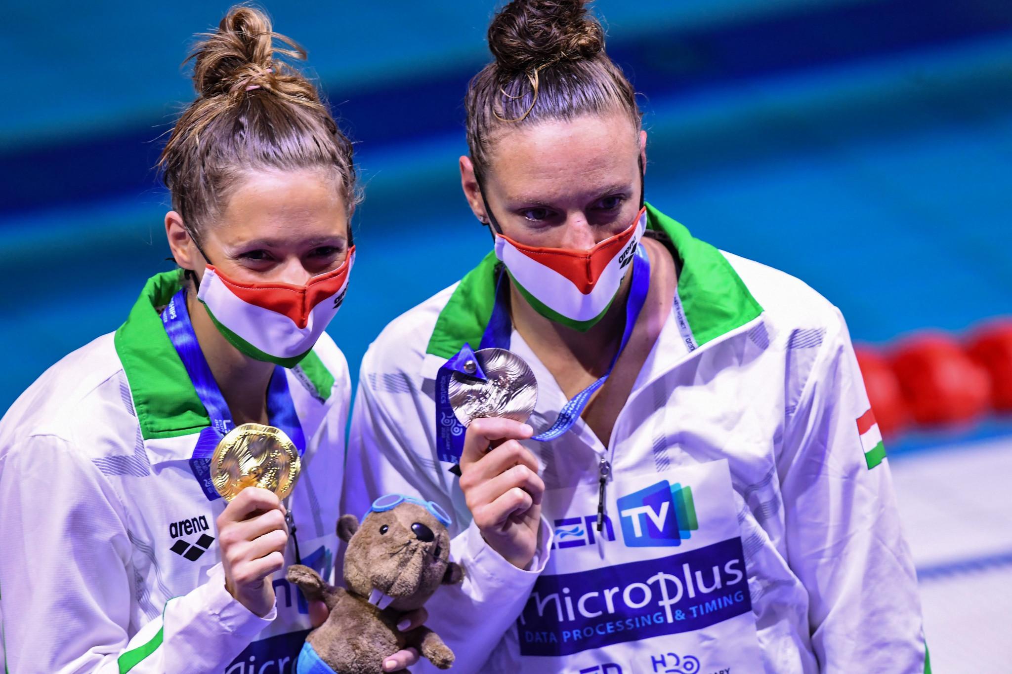 Kapas leads Hungarian one-two at European Aquatics Championships