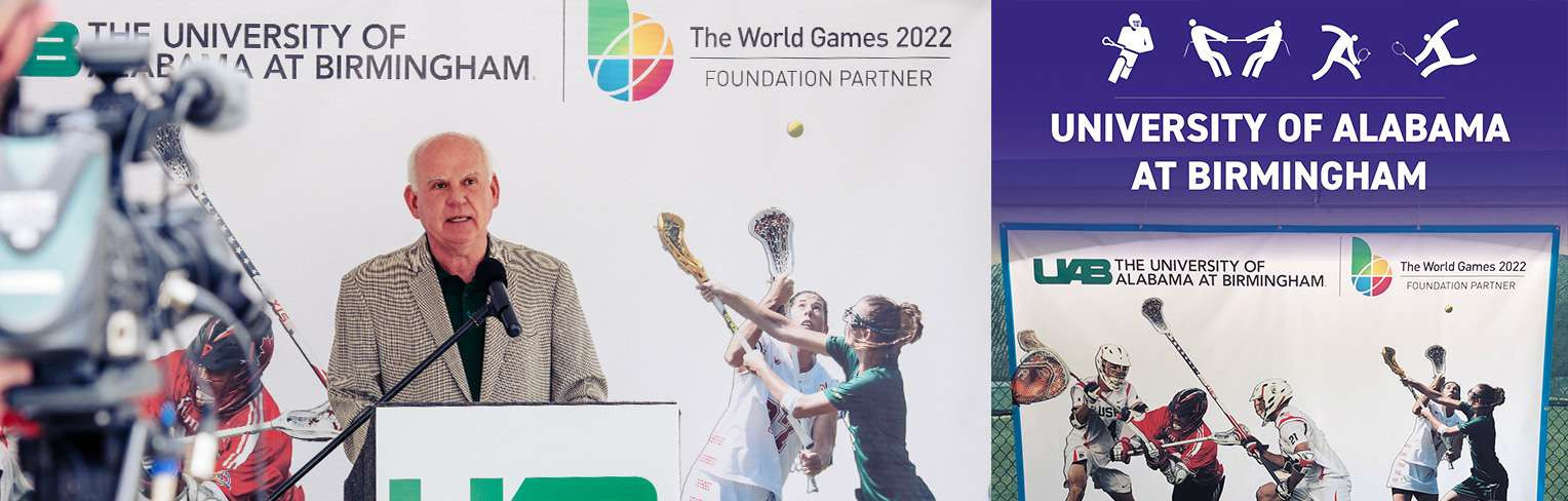 UAB becomes official venue and partner of Birmingham 2022 World Games