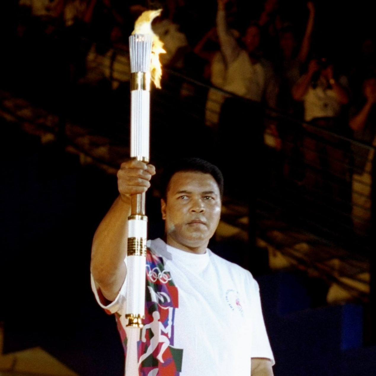 Muhammad Ali was the final Torchbearer ©Getty Images