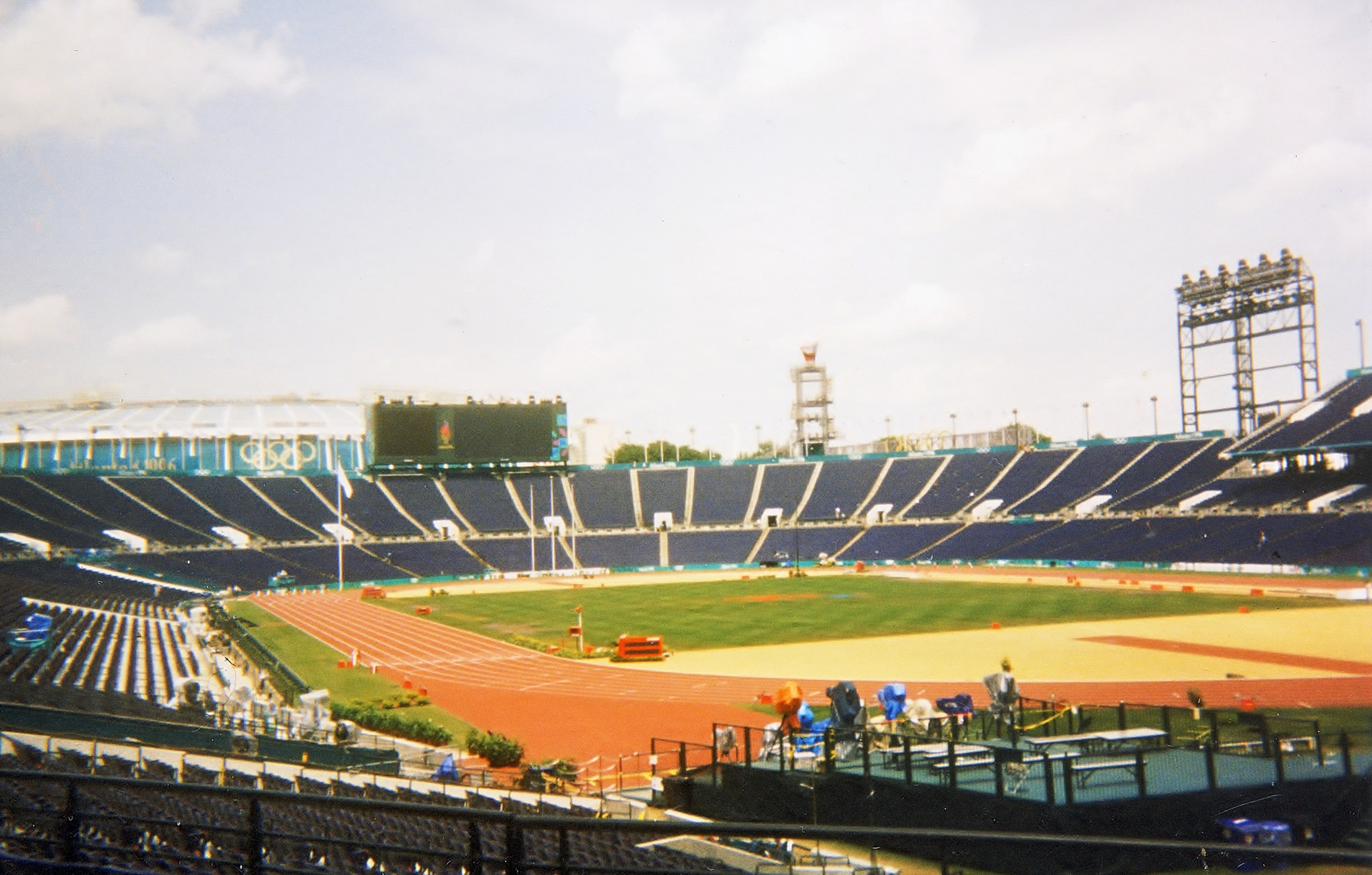 Centennial Olympic Stadium, as it was for the Olympics  ©Philip Barker