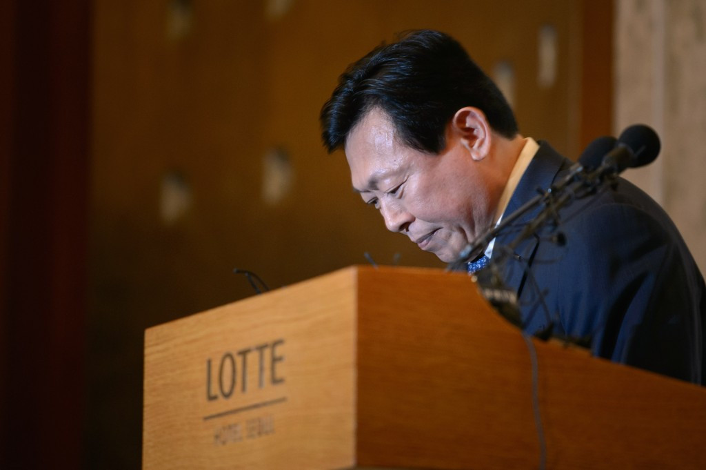 KSA President and Lotte Group chairman Shin Dong-bin is set to provide a financial donation to the upcoming Pyeongchang 2018 test event ©Getty Images