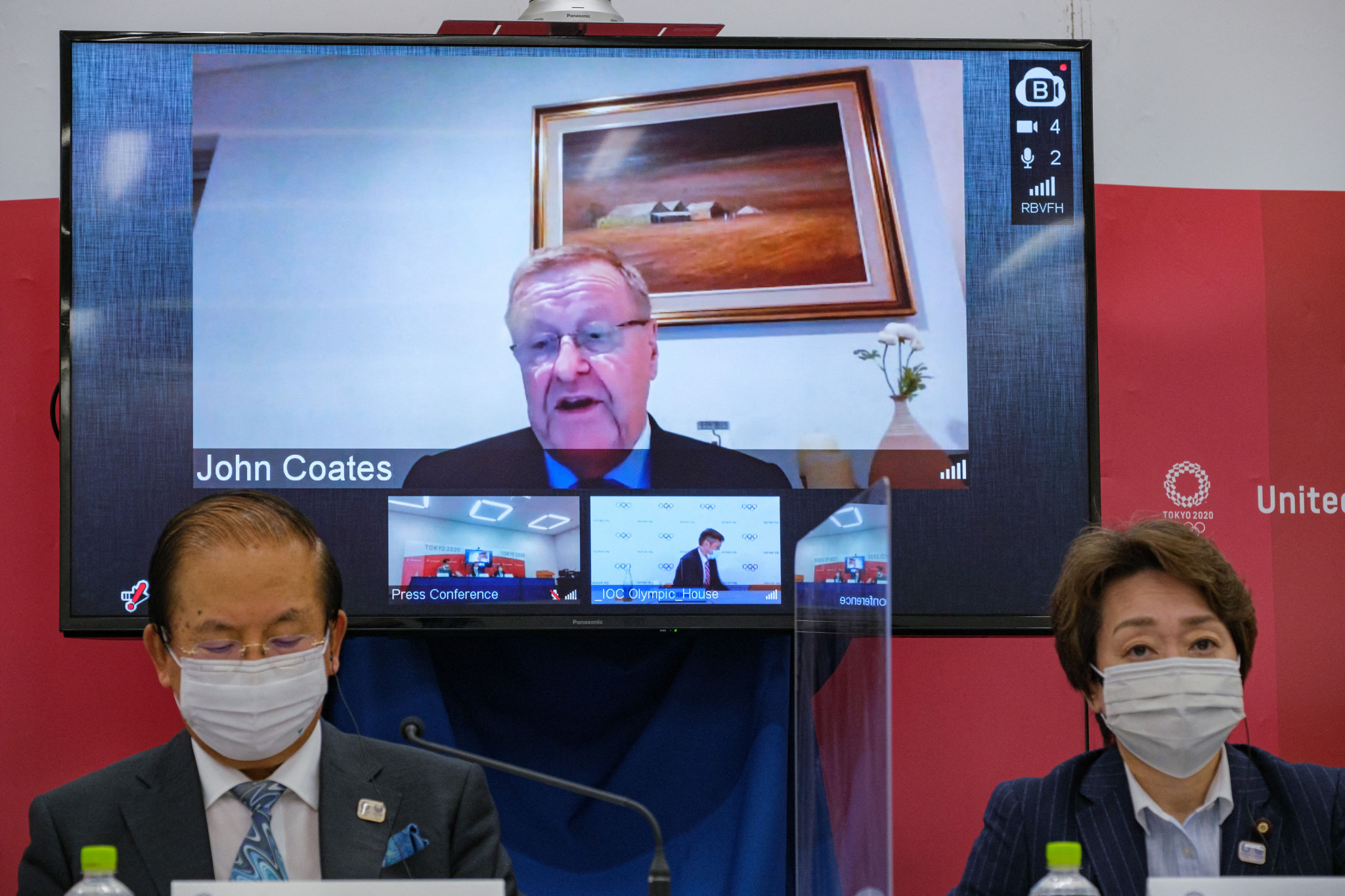 Tokyo 2020 Coordination Commission chair says Games can be held in state of emergency
