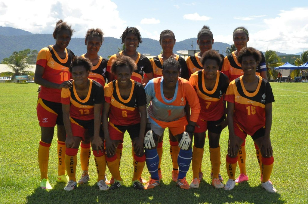 Papua New Guinea have reportedly experienced visa problems which will see them miss the tie ©Facebook/Oceania Football Confederation