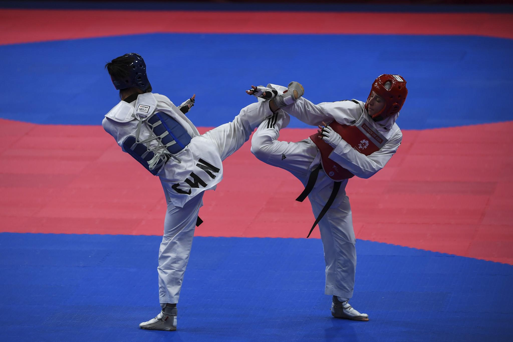 Chinese Taipei qualify three athletes as hosts Jordan enjoy good day at Asian Olympic taekwondo qualifier