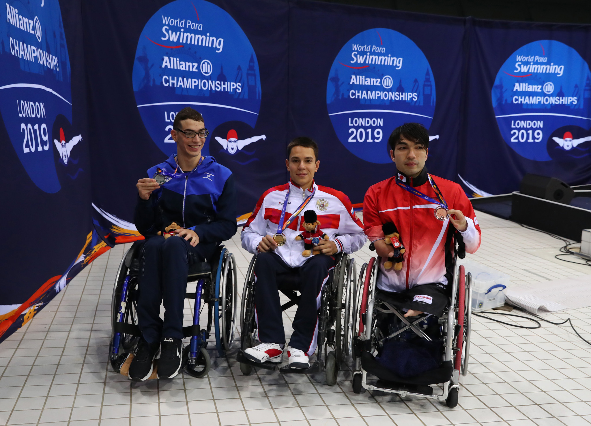 World record for Dadaon as Ukraine enjoy golden night at European Para Swimming Championships