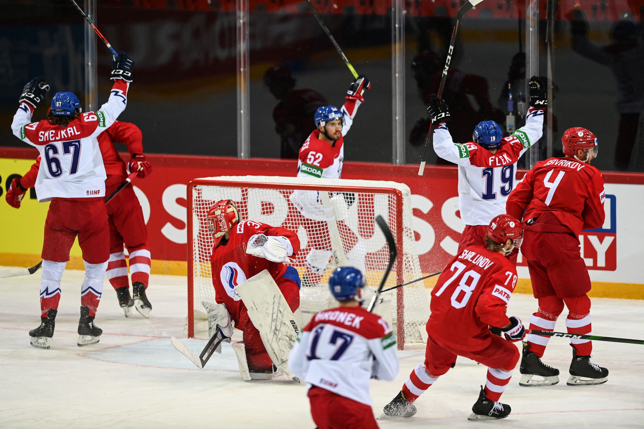 IIHF reports one positive from 2,750 coronavirus tests at World Championship