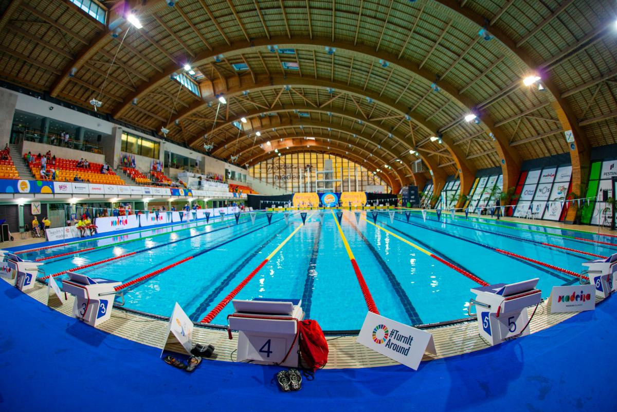 Dates set for 2022 World Para Swimming Championships in Madeira