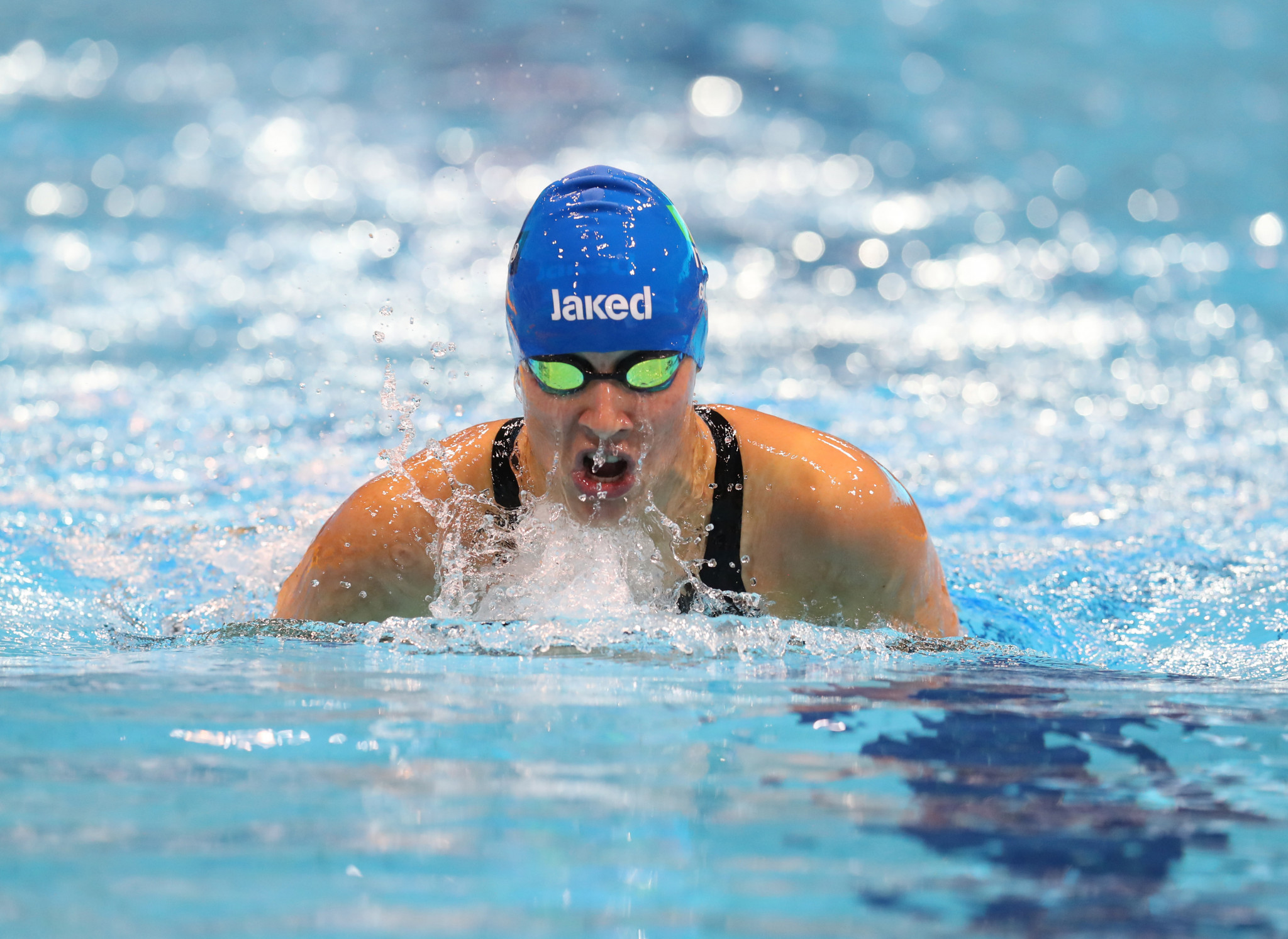 Carlotta Gilli won her sixth medal of the event, one of eight golds for Italy on the final night of the European Open Para Swimming Championships in Madeira ©Getty Images