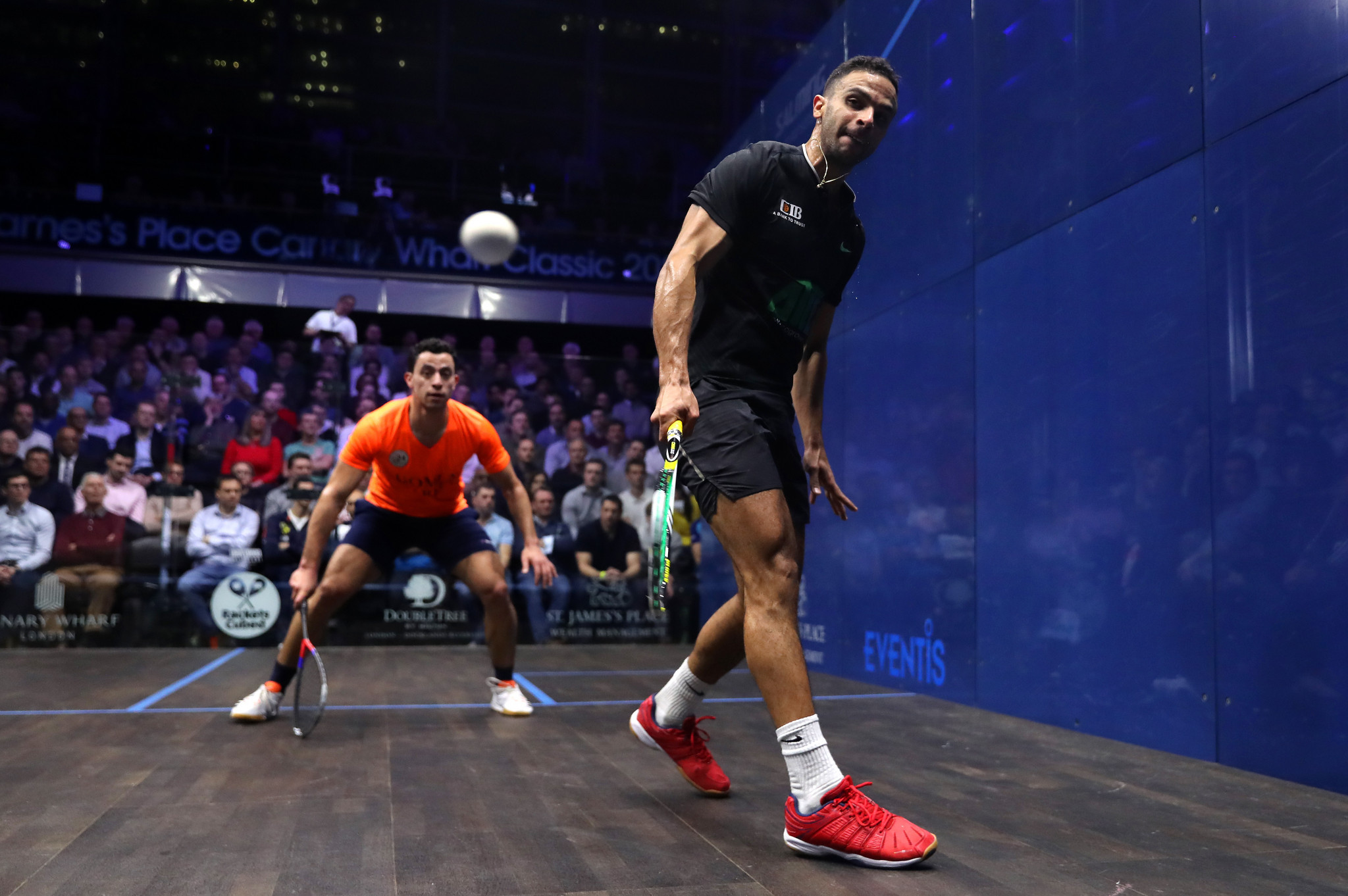 Abouelghar knocks out fourth seed ElShorbagy at El Gouna Squash Open