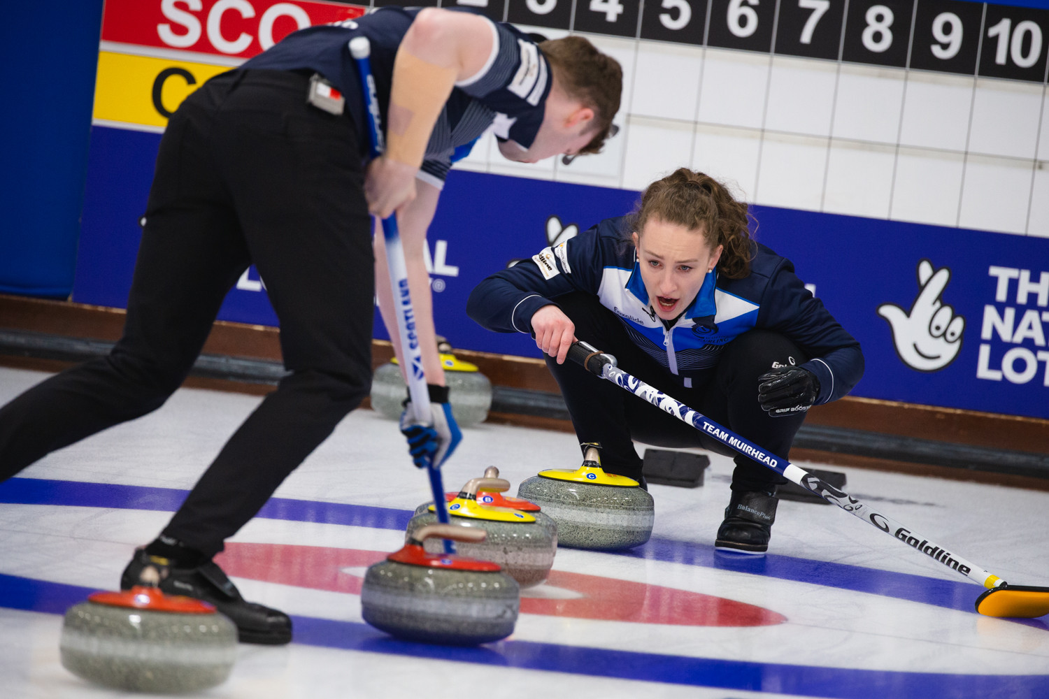 Scotland and Norway reach World Mixed Doubles Curling Championship final