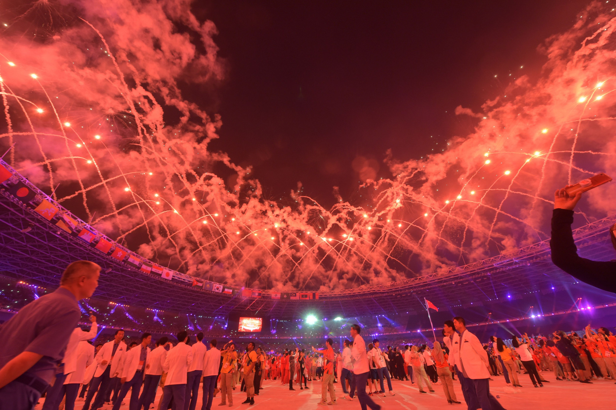 Indonesia, host of the 2018 Asian Games, is hoping to promote a 2032 Olympic bid ©Getty Images