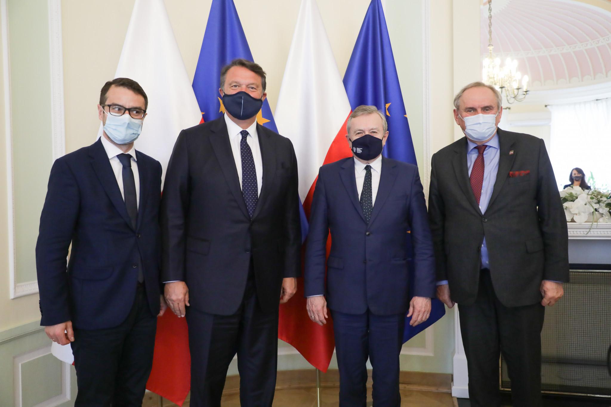 Poland's Deputy Prime Minister pledges support for European Games hosting