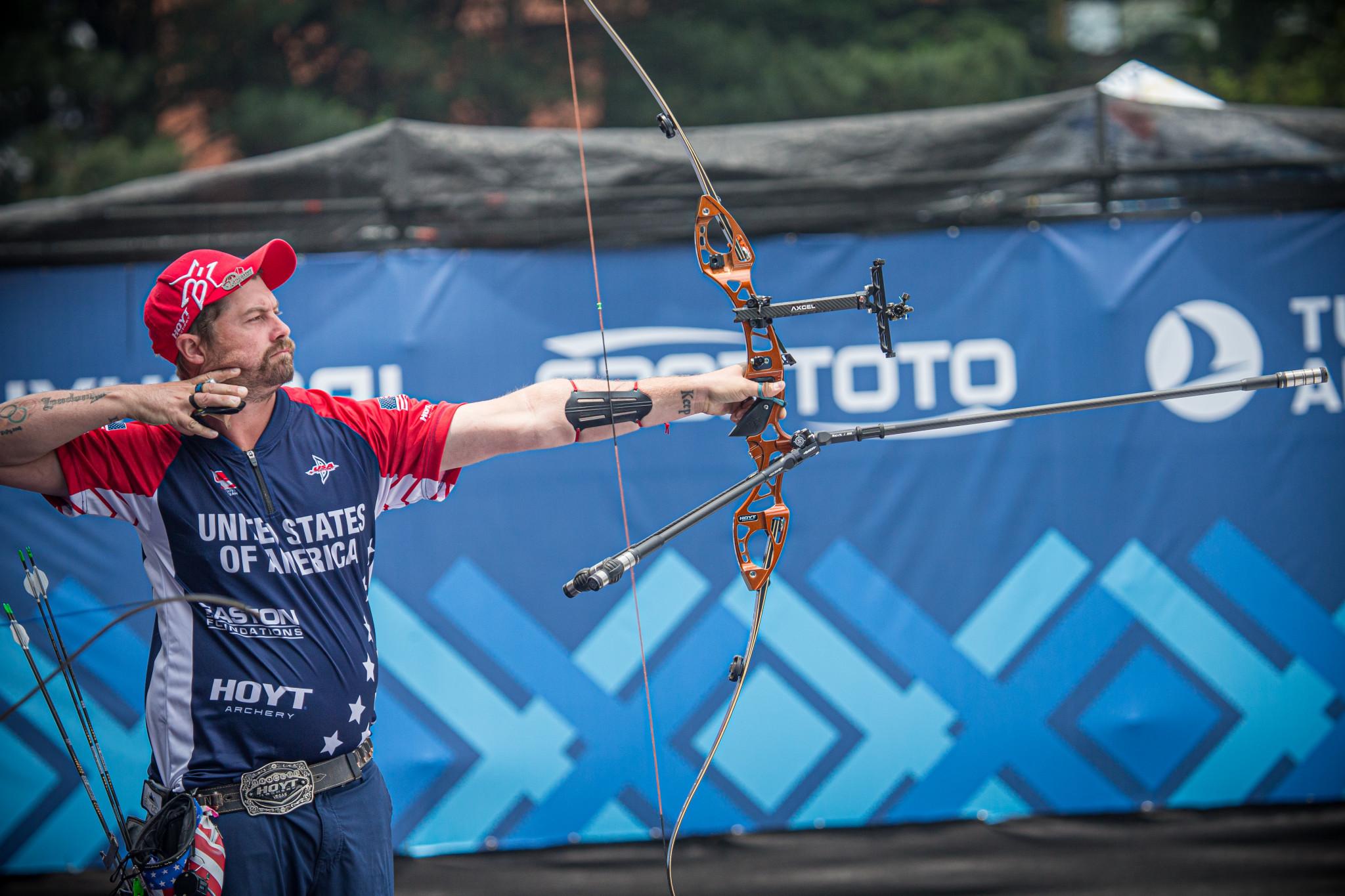 Ellison and Vazquez among recurve semi-finalists at Paris Archery World Cup