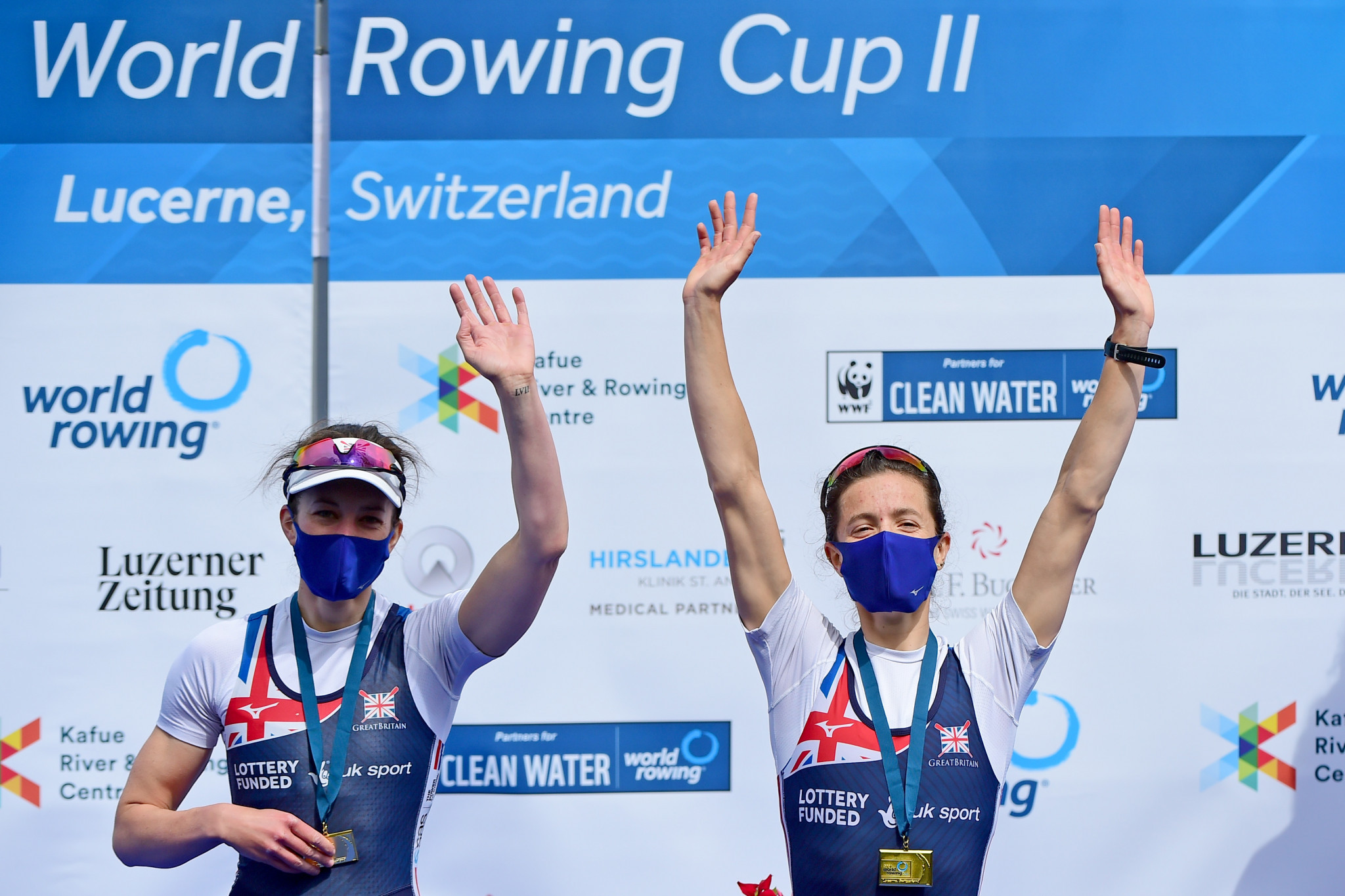China and Britain finish Rowing World Cup with three golds apiece in Lucerne