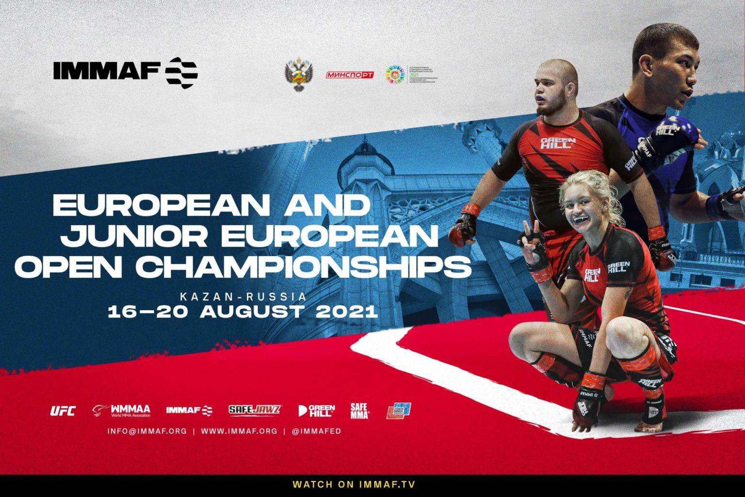 Athlete registration opens for IMMAF Senior and Junior European Open Championships