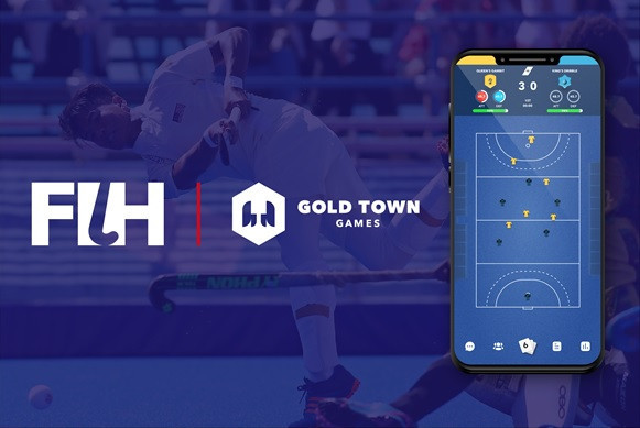 FIH strikes deal with Gold Town Games to launch hockey manager game