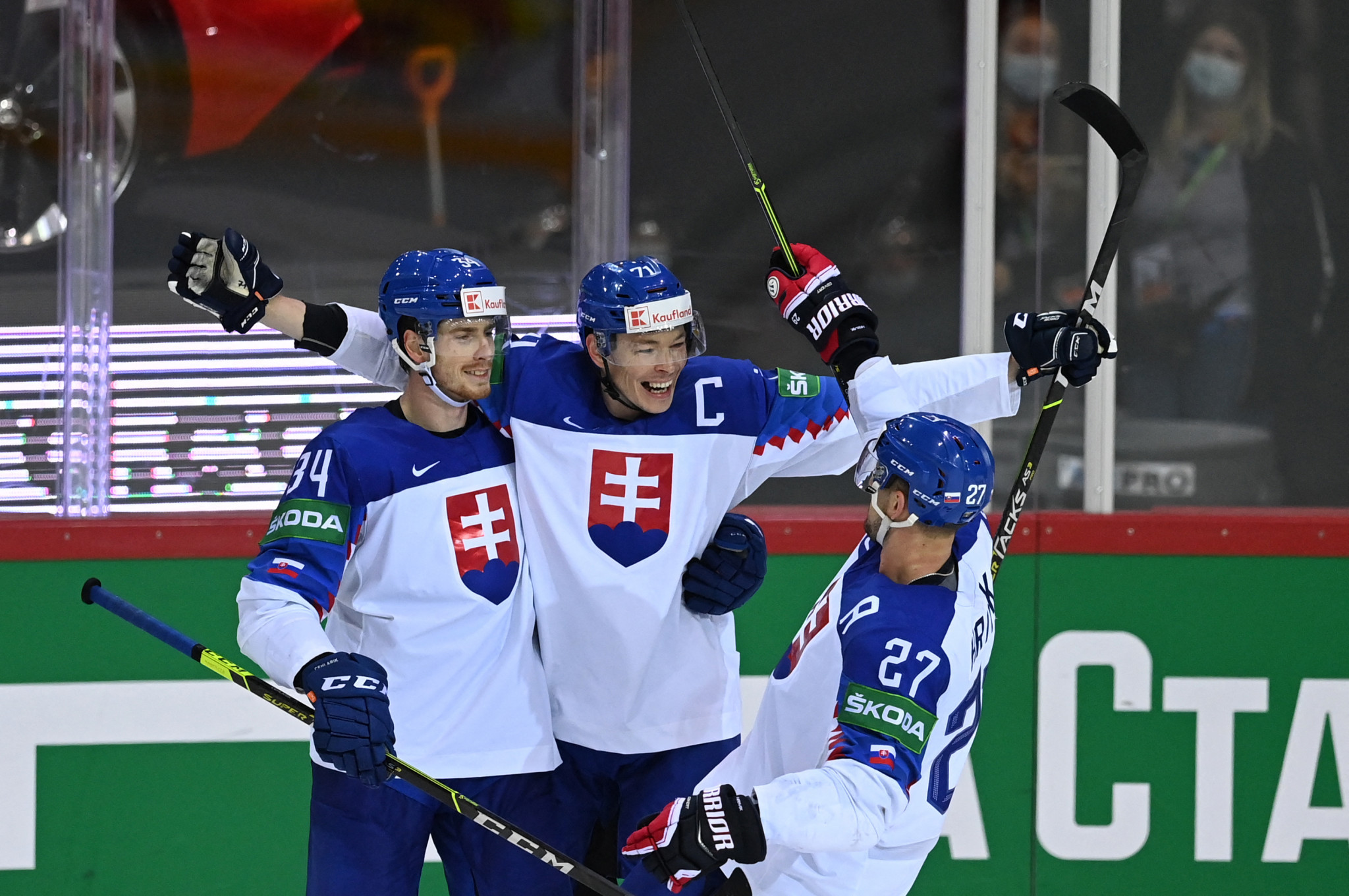 Three wins on spin for Slovakia at IIHF Men's World Championship