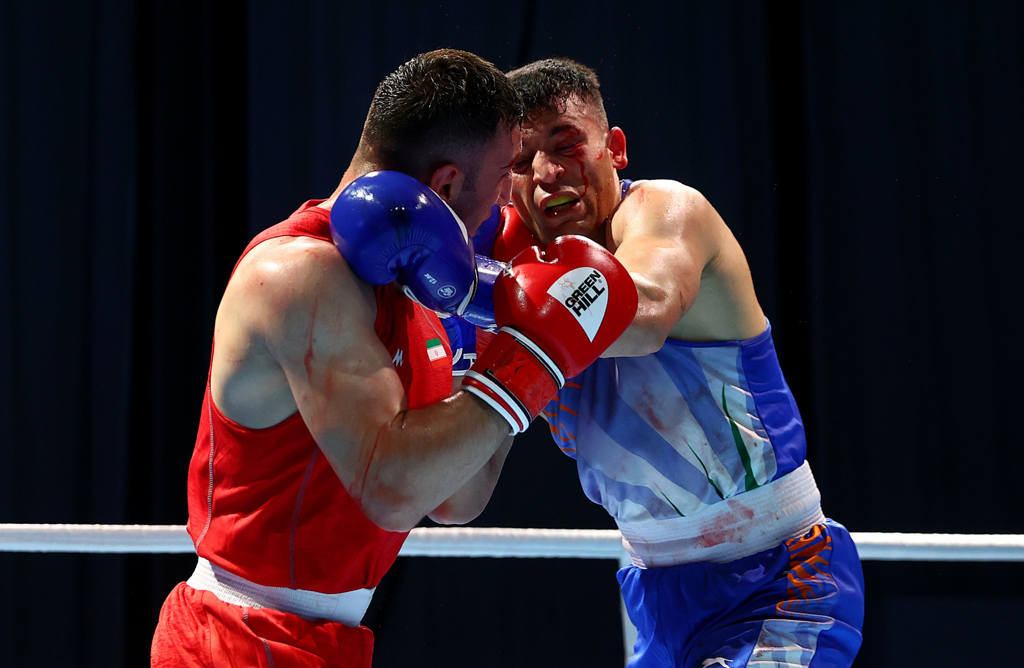 Iran record four wins on opening day of preliminary action at Asian Boxing Championships