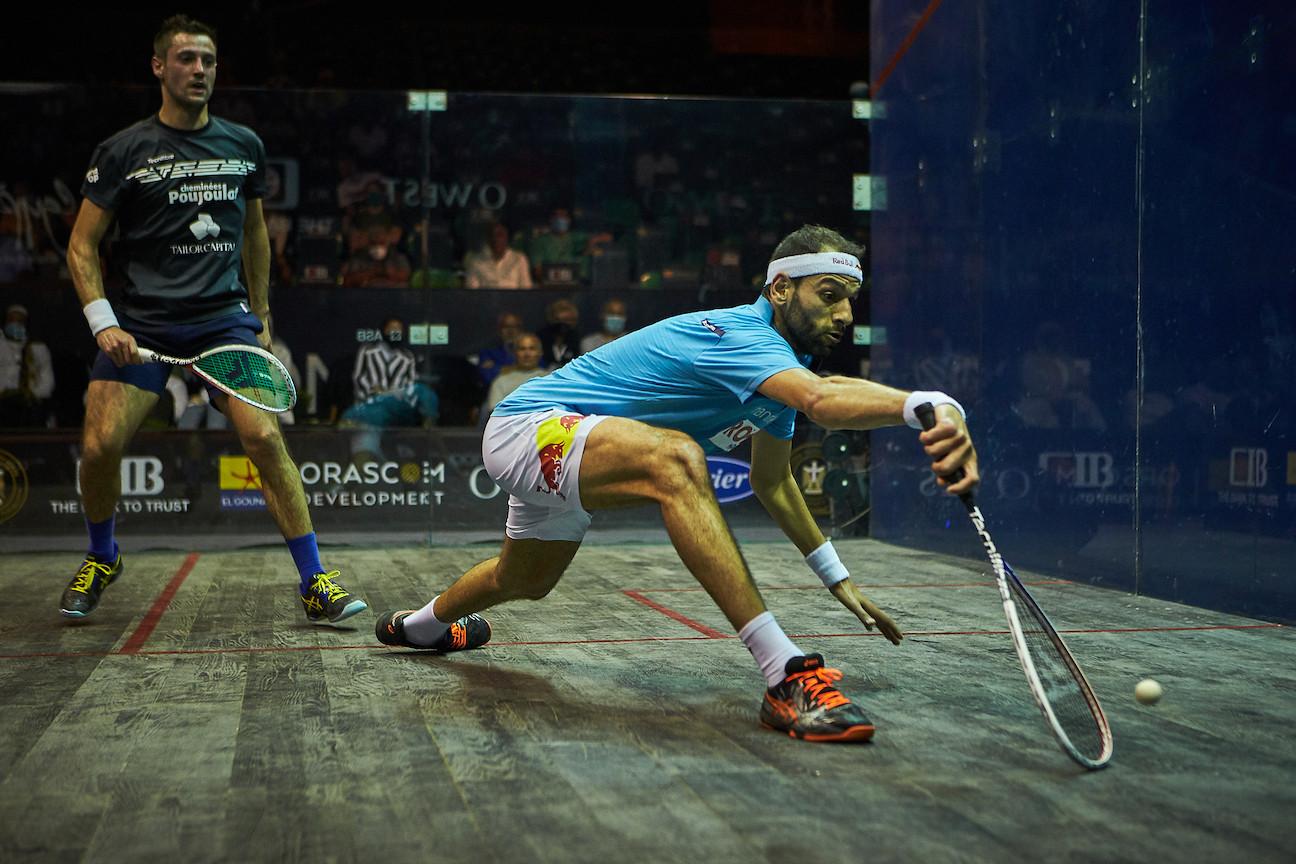 Top seeds reach quarter-finals of El Gouna International Squash Open
