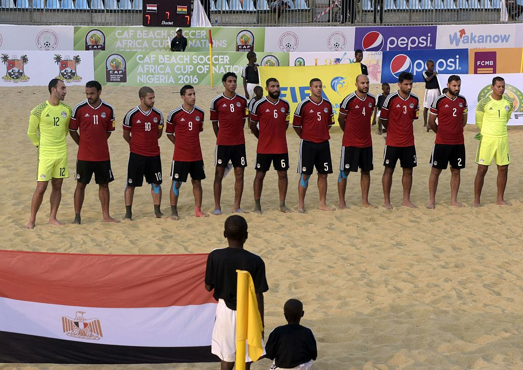 Egypt beat the Seychelles 12-1 today in the Beach Soccer Africa Cup of Nations to give themselves the chance of reaching the last four tomorrow ©Getty Images