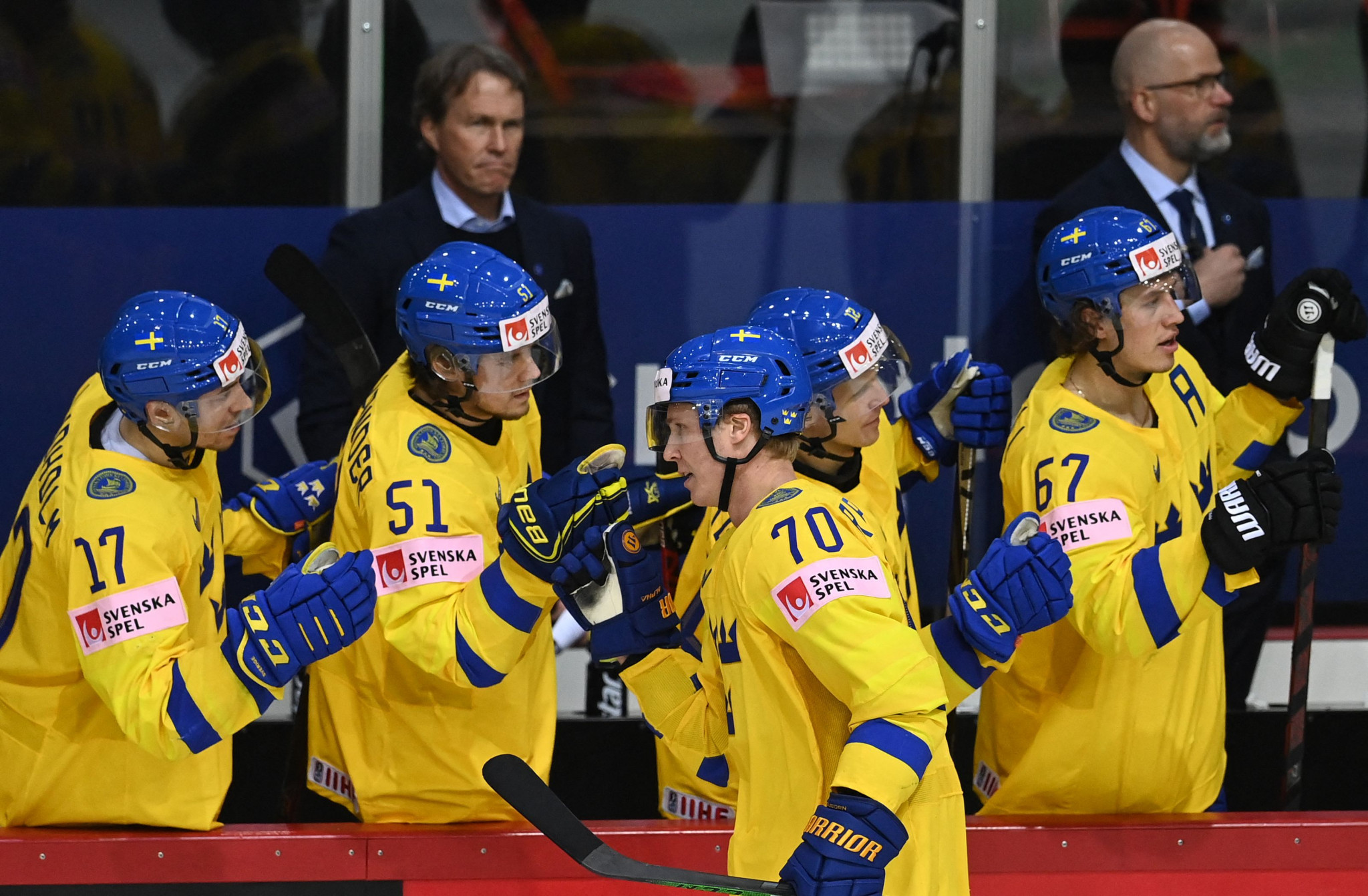 Sweden record first win at IIHF World Championship and Finland bounce back