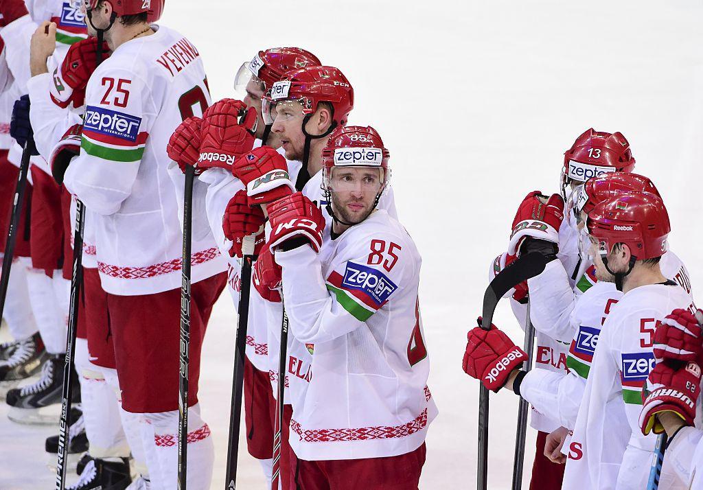 Belarus upset by Britain under new flag at IIHF World Championship in Riga