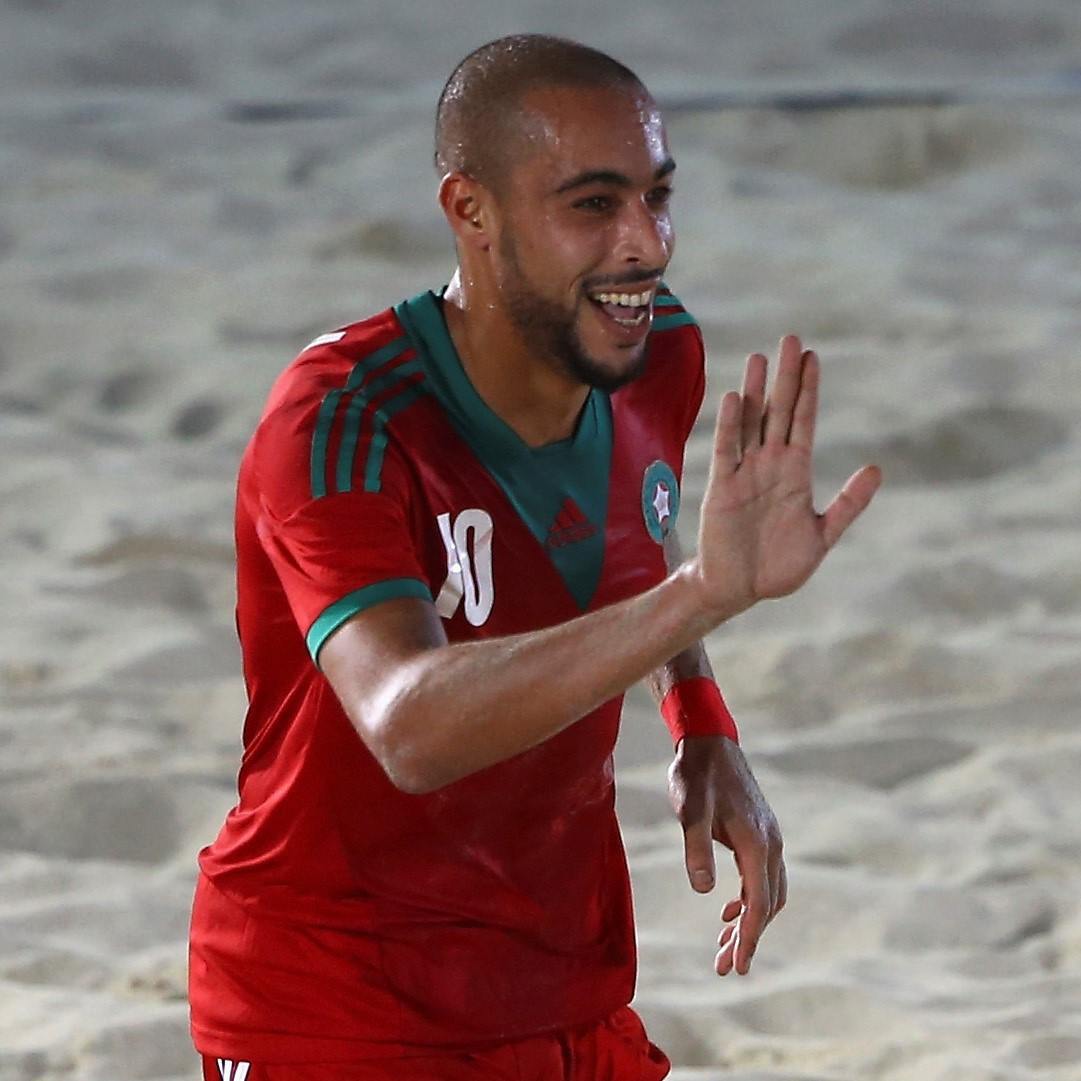Morocco captain Nassim El Hadaoui was among the scorers as they beat Egypt to progress to the last four ©Getty Images