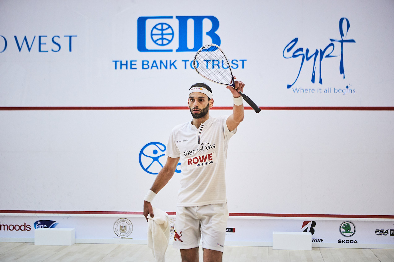ElShorbagy and Dessouky advance from dramatic and delayed El Gouna quarter-finals