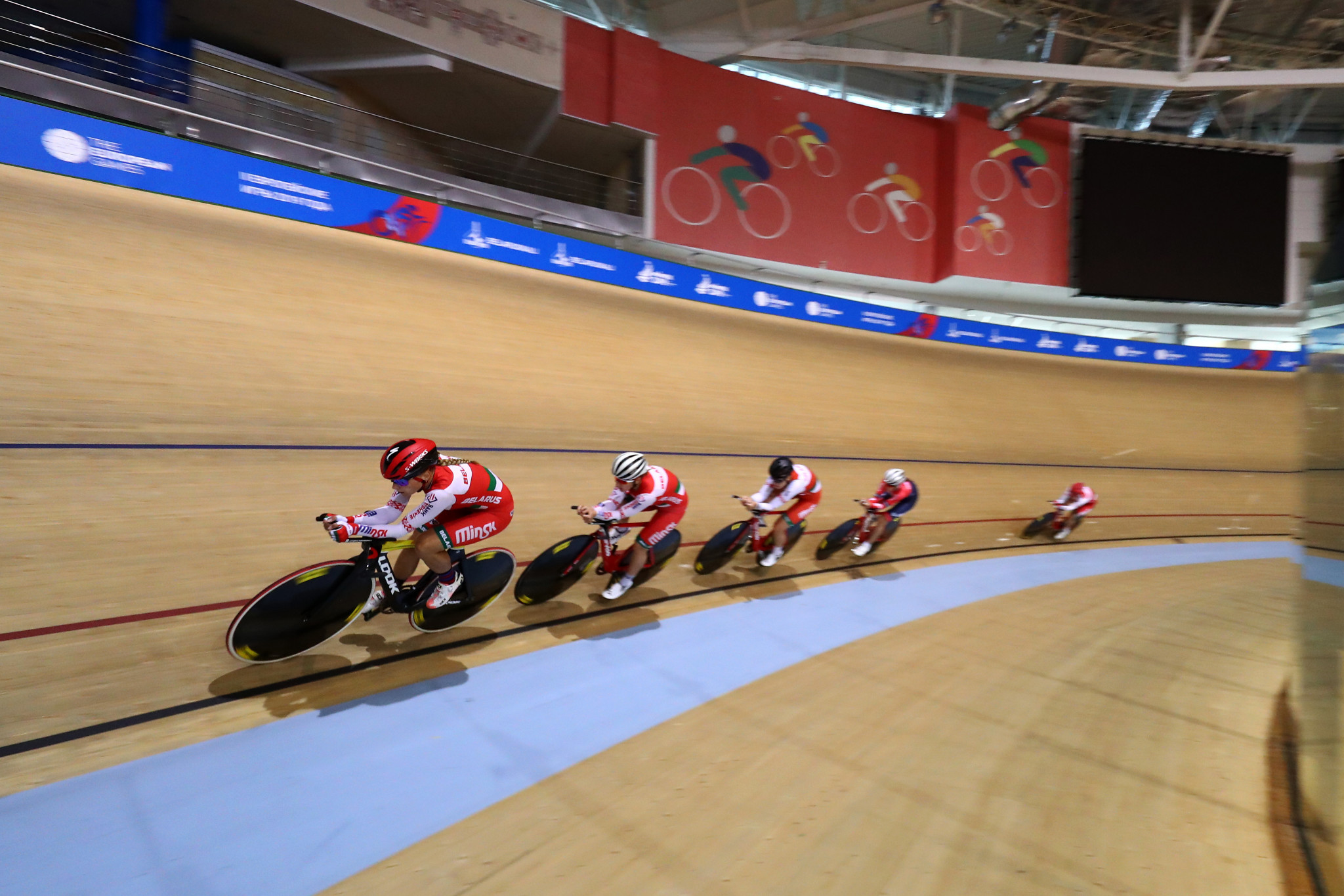 Belarus has been removed as UEC Elite Track European Championships host ©Getty Images