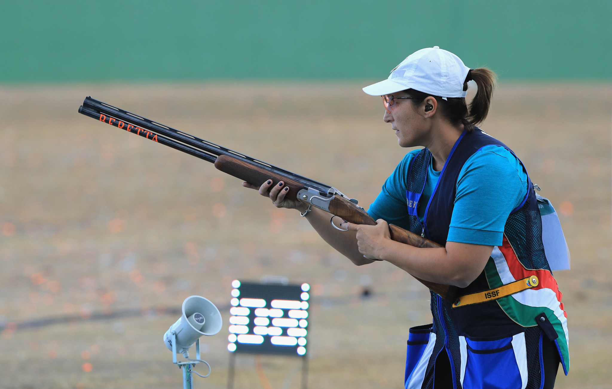 Cainero and Rossetti win skeet titles at European Shooting Championships in Osijek