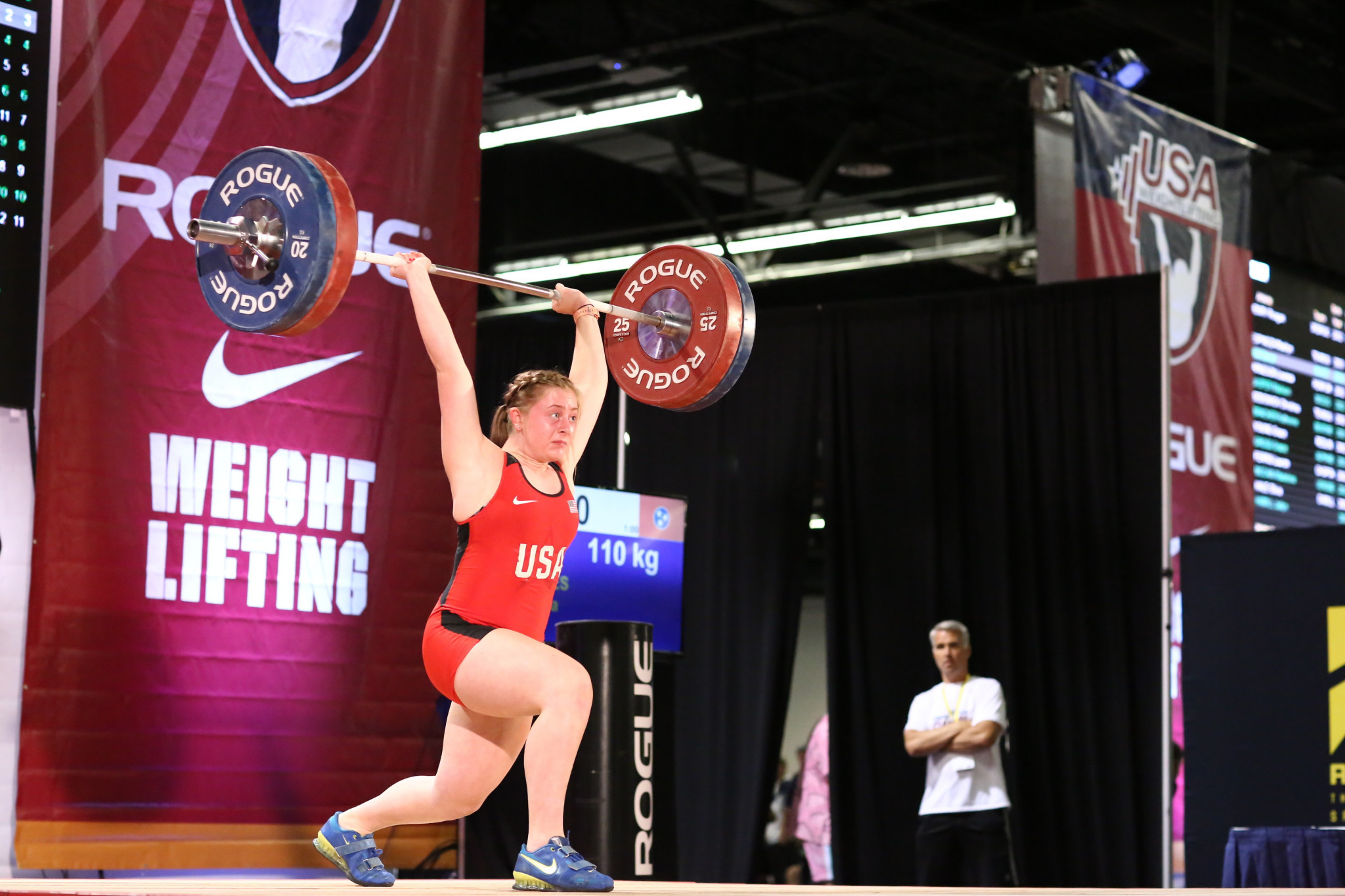 American teenager Reeves takes weightlifting world title to keep run going