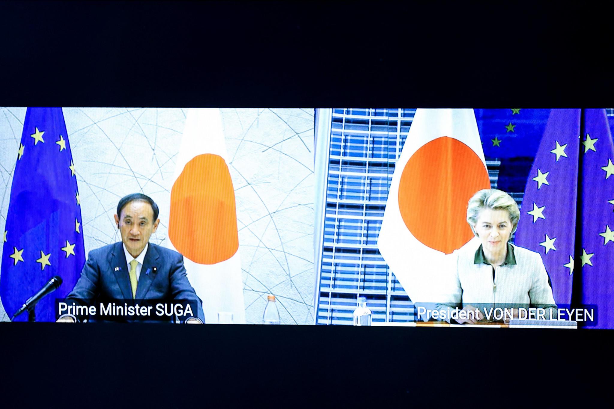 Kemarin, Komisi Eropa mendukung Dekade Tokyo 2020 dan berjanji untuk mengirimkan vaksin ke Jepang. © Getty Images