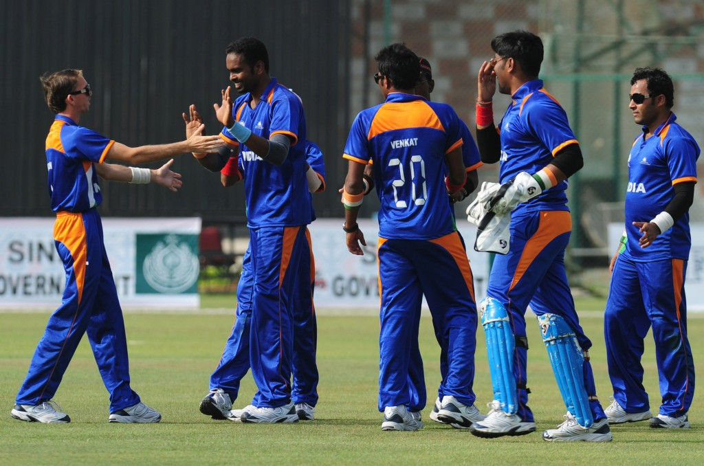 India beat rivals Pakistan to claim Blind Cup final glory