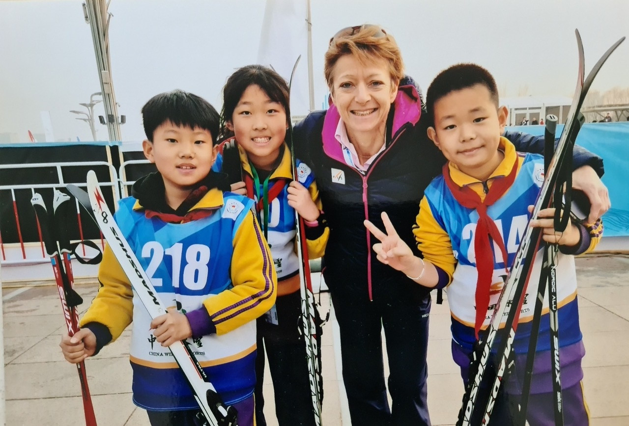 FIS Presidential candidate Sarah Lewis has pledged to introduce governance reforms ©Tom Traschel