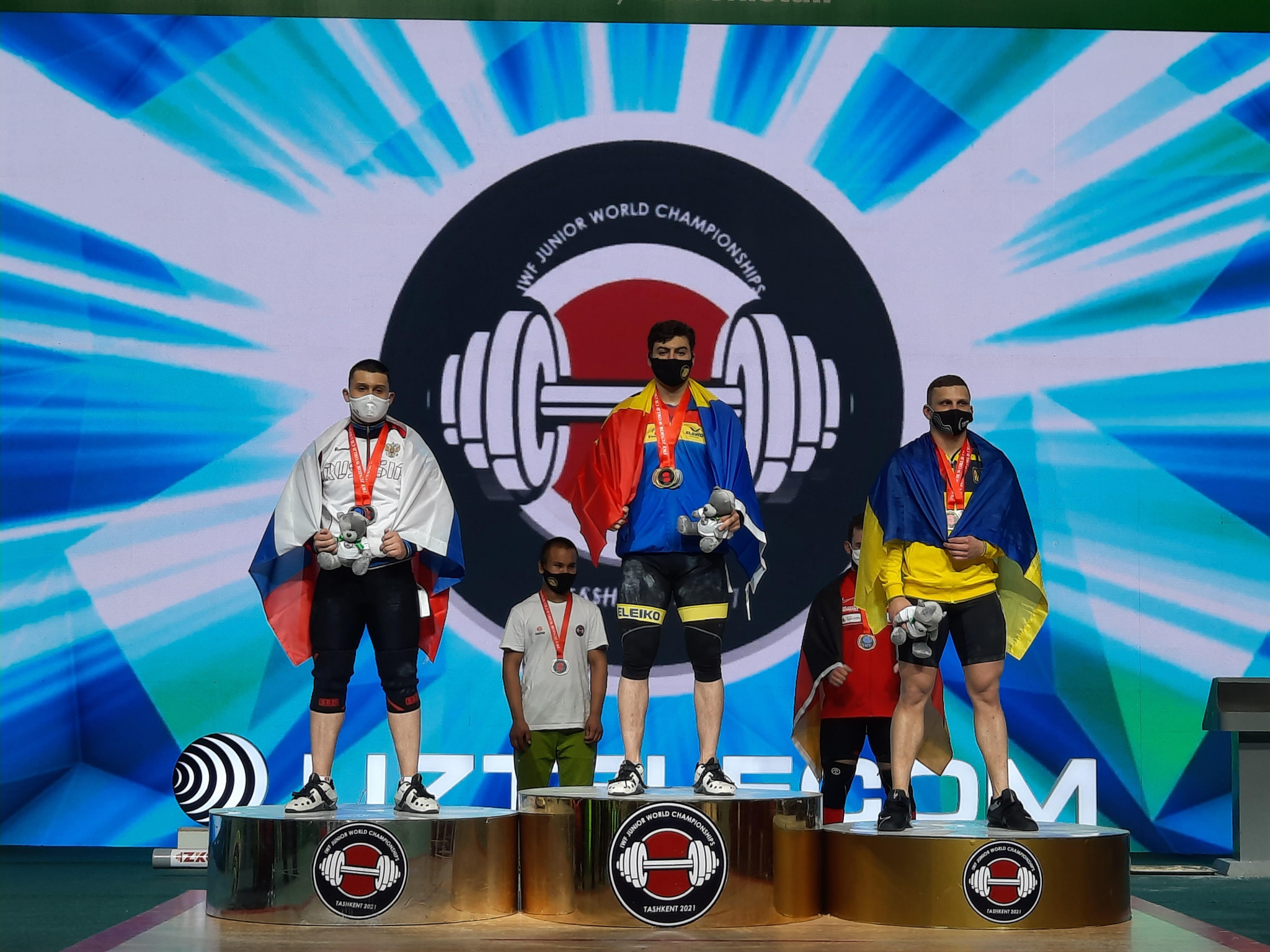 Weightlifting glory for Russia and Moldova at Junior World Championships