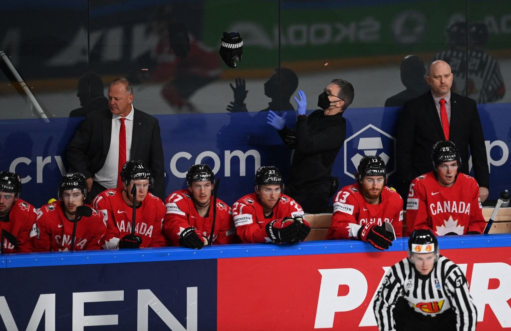 Top seeds Canada keep hopes alive at IIHF Men's World Championship with win over Kazakhstan
