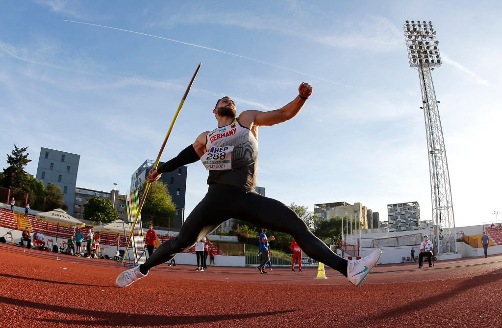 Vetter's monster javelin throw at European Team Championships comes at a price
